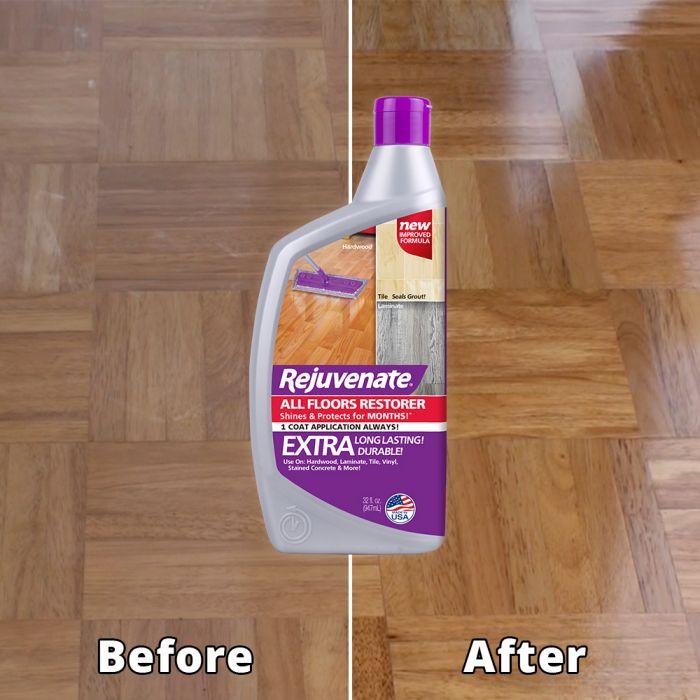 rejuvenate complete floor cabinet and furniture home restoration kit 6 piece