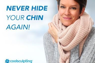 Double Chin? Get rid of it with CoolSculpting.
