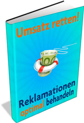 EBook-Cover Umsatz retten – Reklamationen optimal behandeln