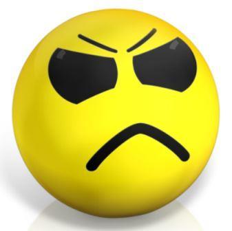 Bei negativer Reklamations-Behandlung sind die Kunden bald verärgert.