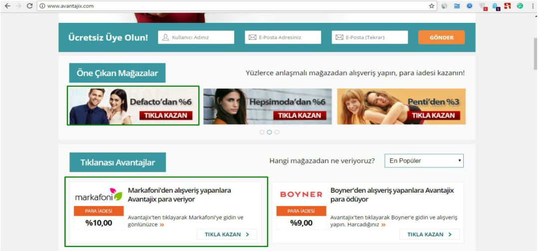 Affiliate - Cashback Yayincisi 2