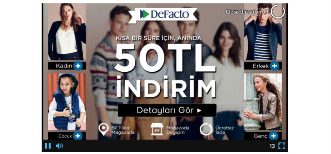 Interaktif Video Reklami - 5i