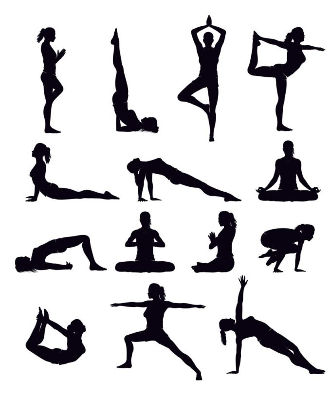 We leave you some asanas to inspire you!