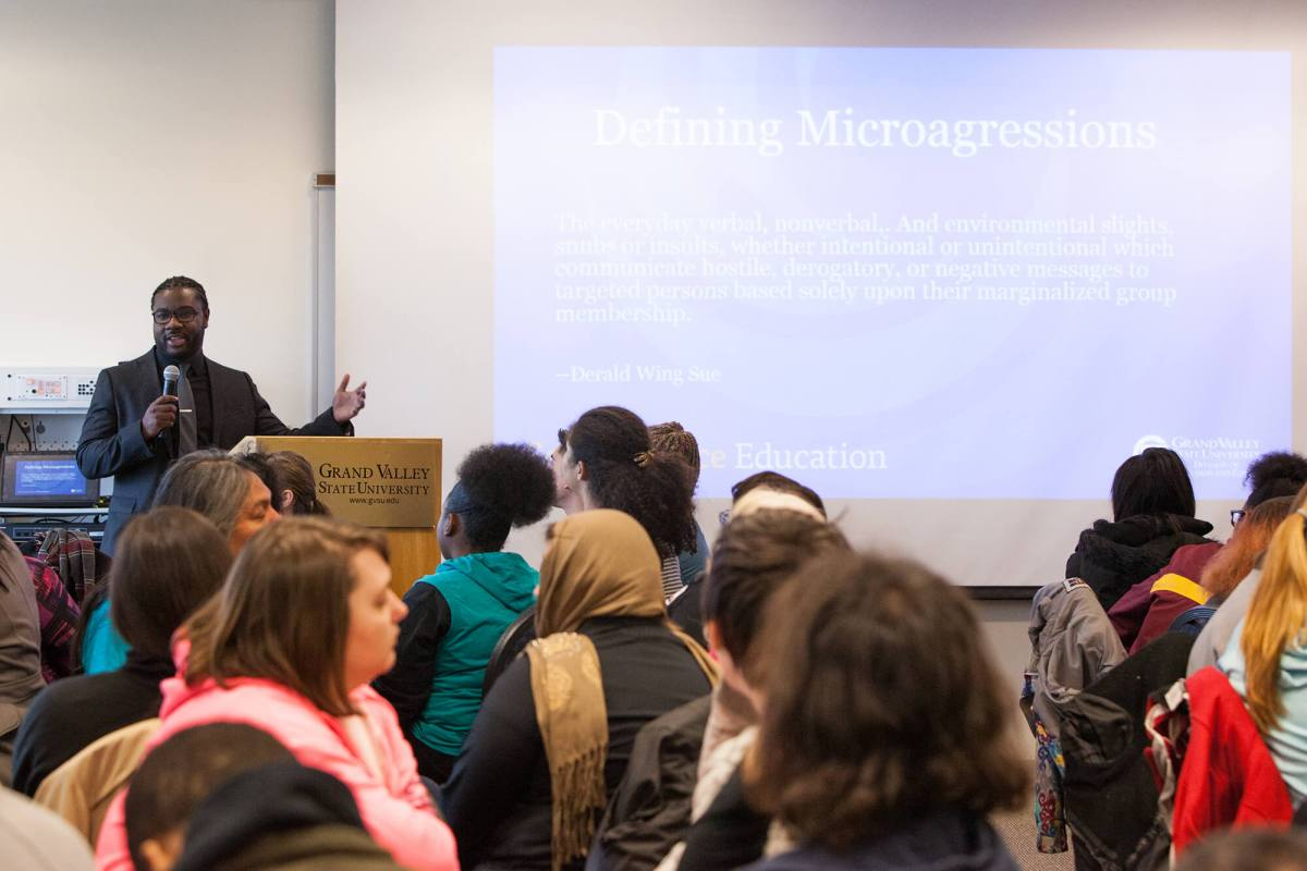 MLK Day Workshop on Microaggressions