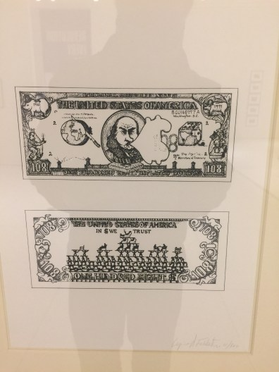 """""""In $ we trust"""". Check out the back of the dollar below. Notice how the few at the top are being held up by the many below..."""