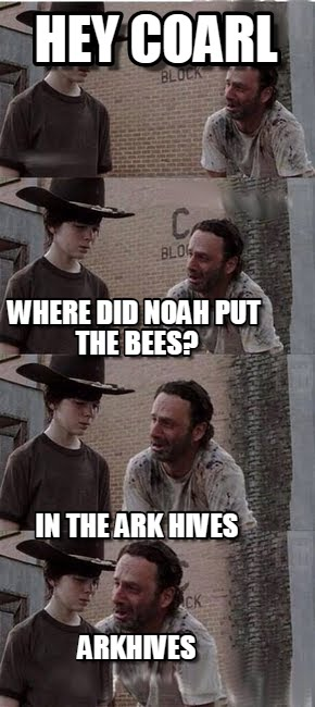Walking Dead Carl Meme Template