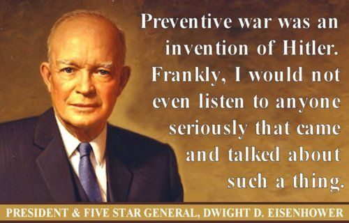 Image result for preemptive war quotes