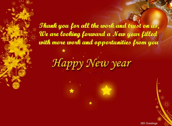 business partner new year greetings