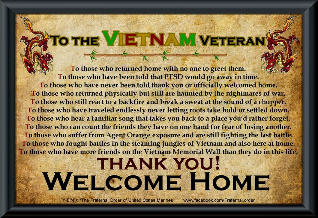 VIETNAM VETERANS DAY QUOTES Image Quotes At