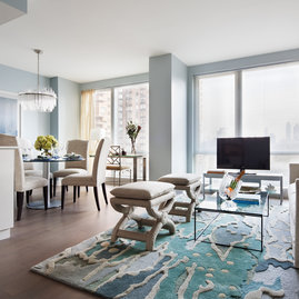Experience Sweeping New York Views From Your Floor To Ceiling Windows