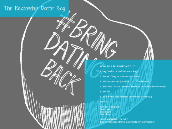 Bring Dating Back