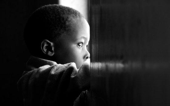 Black-Boys-Mother-Date-Gazing-window