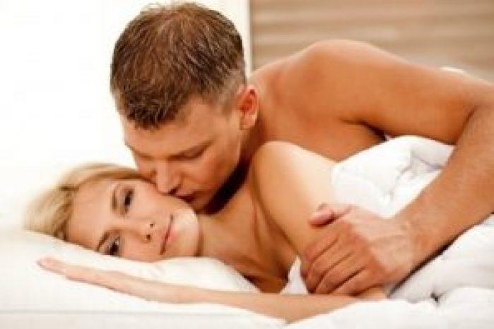 Initiate lovemaking