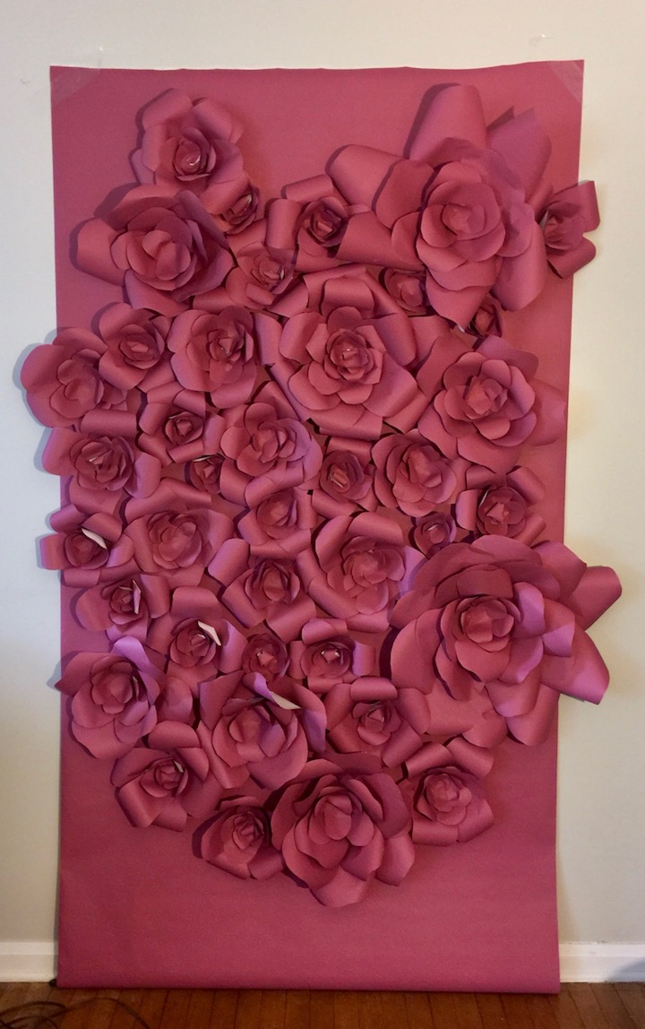 Diy Or Buy Paper Flower Backdrop Relative Renovations