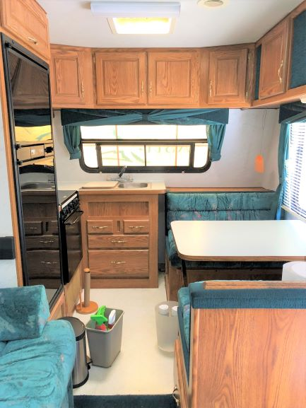 RV Renovation, Trailer renovation, tiny living, minimalist living