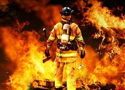 pompier stress