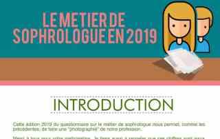Métier de sophrologue en 2019