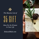 The Massive list of 35 Gift ideas for the woman in your life
