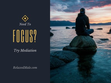 Find your focus by meditating