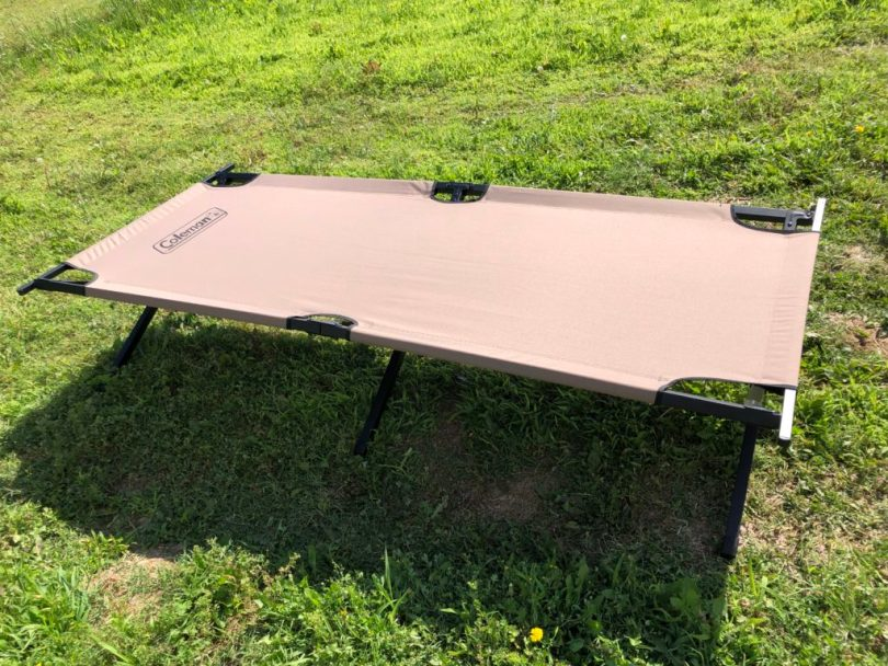 img 3629 e1560474652824 1024x768 Review: Coleman Trailhead II Cot