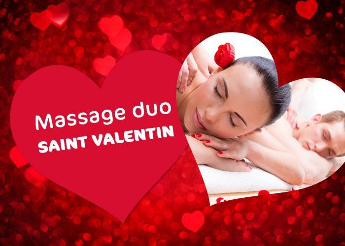 Massage Duo pour la Saint Valentin ♥️