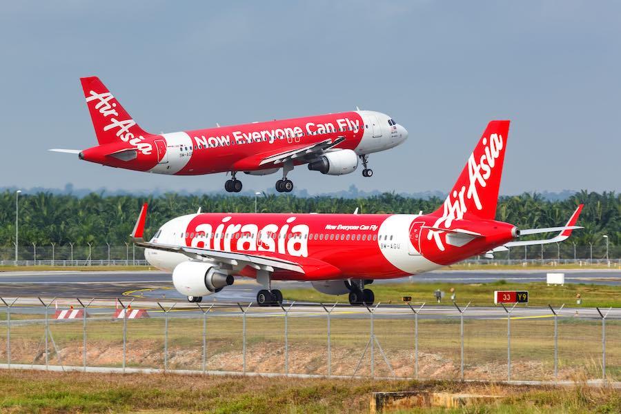 AirAsia เปิดบินสนามบินสุวรรณภูมิ 4 เส้นทาง เริ่ม 744 บาท