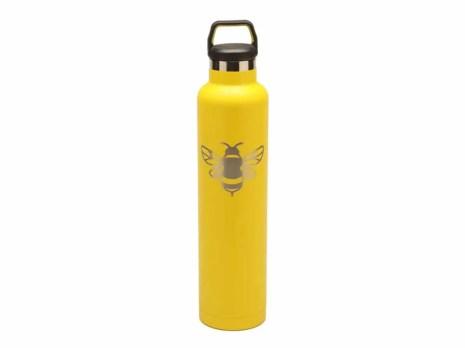 custom RTIC 26oz water Bottles - yellow (RelayBatons.com)