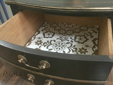 Gold drawer liners