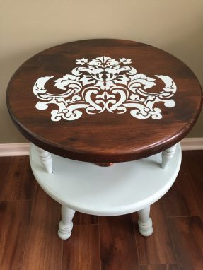 Two-tier Round End Table