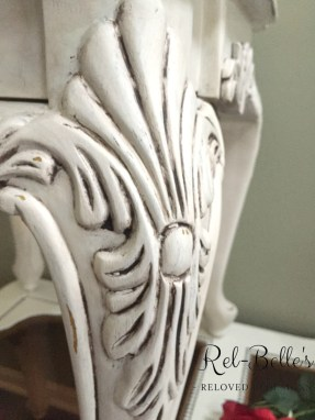 Ornate Carved Coffee Table and End Table