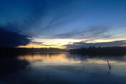 Solnedgång på Utö