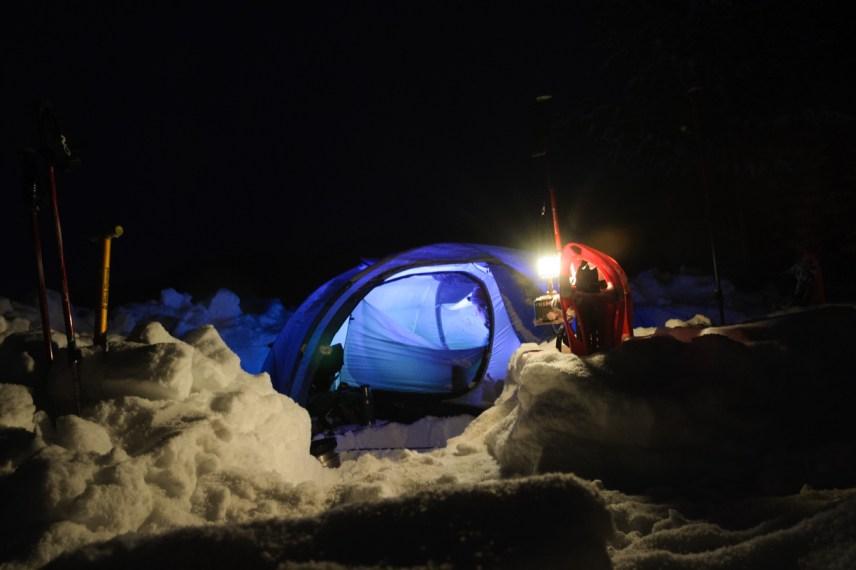 Reldin Adventures - High Coast Winter Hike - Tälta