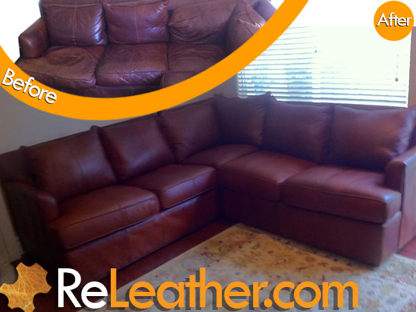 Releather Before And After Photo Gallery Leather Upholstery