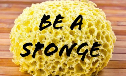 Be a Sponge