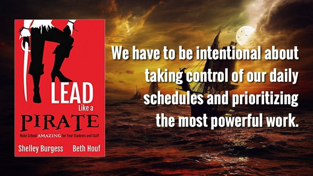 We have to be intentional about taking control of our daily schedules and prioritizing the most powerful work.