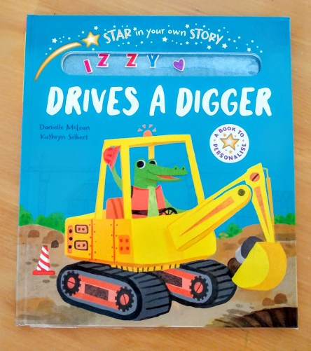 Star in your own story: Drives a digger