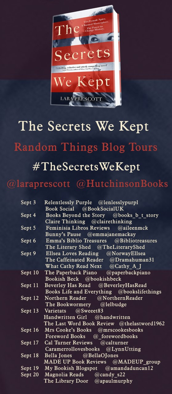 The Secrets We Kept By Lara Prescott Blog Tour