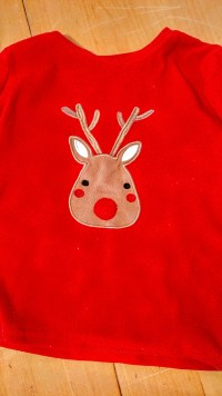 Reindeer pj top refreshed with ACE for colours
