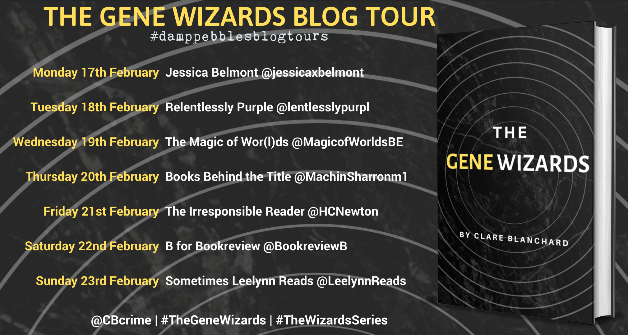 The Gene Wizards By Clare Blanchard – Blog Tour
