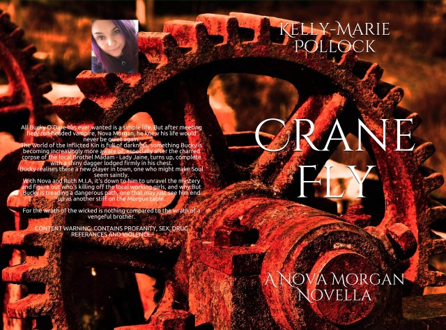 Crane Fly By Kelly-Marie Pollock front cover