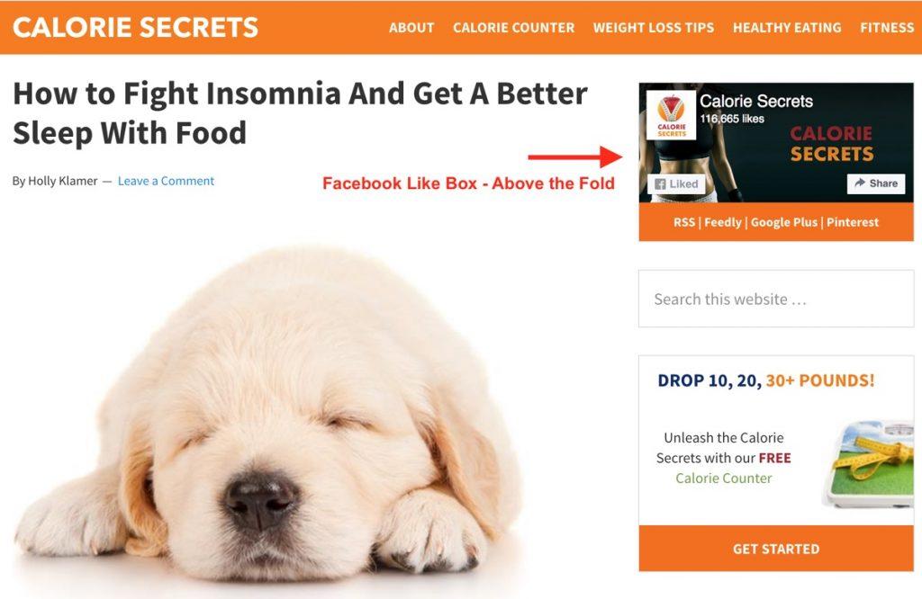 hộp thích trang Facebook nhanh trên website doanh nghiệp