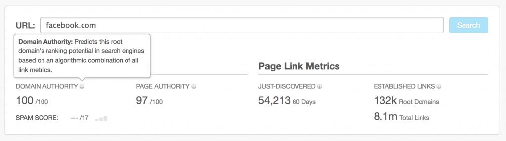 improve domain authority moz