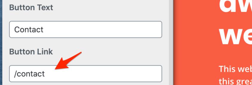 configure website menu