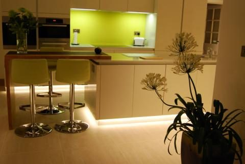 Led flexible indoor strip tape 12v dc led tape lighting used as plinth lighting aloadofball Choice Image