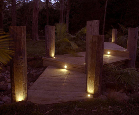 inground outdoor led uplight