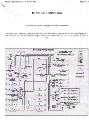 Reliant Spares  Wiring Diagrams