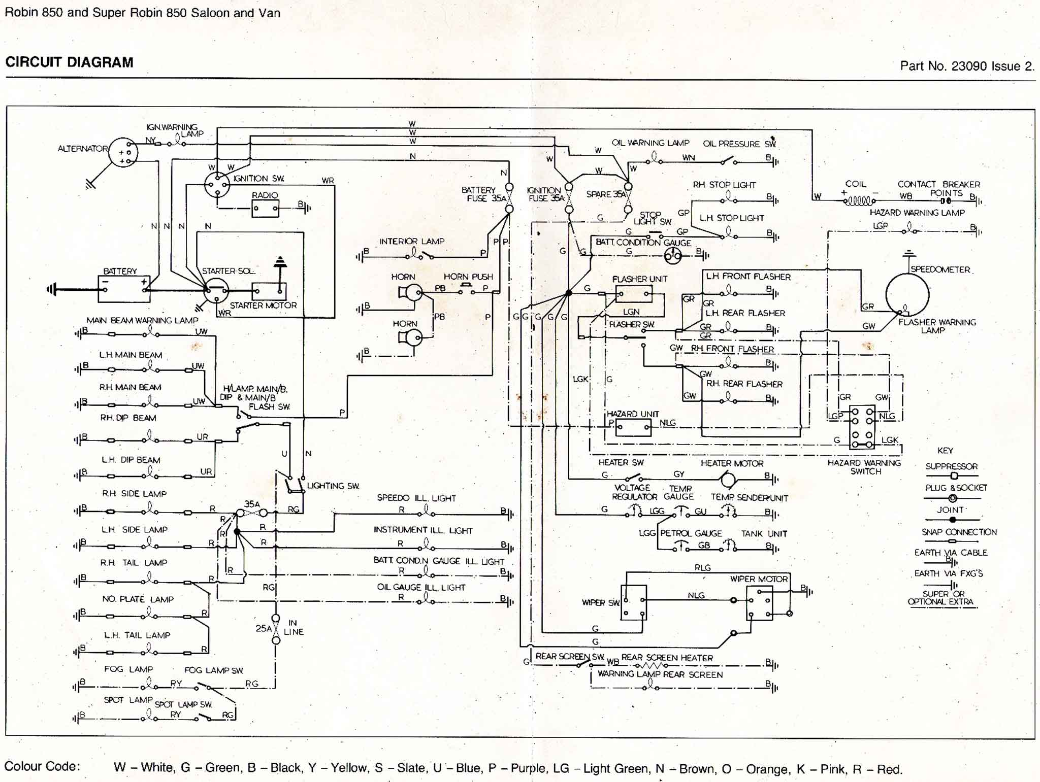 Bug Wiring Diagram
