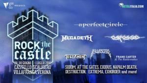 ROCK THE CASTLE: gli orari di esibizione dei gruppi