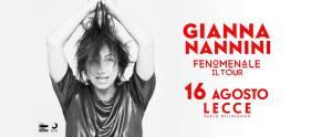 FENOMENALE il tour di Gianna Nannini a Lecce