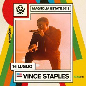 Annullato la data di Vince Staples al Magnolia